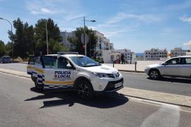La Policía Local de Santa Eulària interpone una docena denuncias por desobediencia