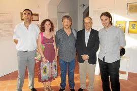 Inauguración de una exposición sobre Josep Rullan en el Museu de Sóller