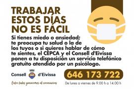 El CEPCA ofrece un servicio telefónico gratuito de atención psicológica a profesionales esenciales