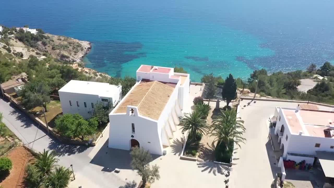 El confinamiento en Ibiza a vista de pájaro
