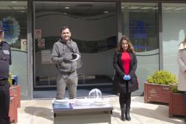 Una empresa dona 50 mascarillas al Ayuntamiento de Vila
