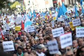 Manifestación por las pensiones en Madrid