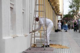 El regreso de algunas de las actividades no esenciales en Ibiza, en imágenes (Fotos: Daniel Espinosa).