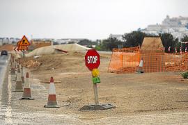 El Consell mantiene la suspensión de las obras de la carretera de Santa Eulària y replanteará el programa de ejecución