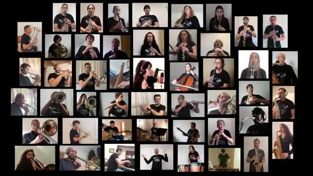 La Banda de Música Sant Antoni planta cara al coronavirus al ritmo de Sweet Child o' Mine de Guns N' Roses