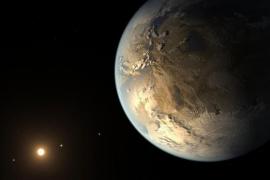 Hallan un enorme planeta rocoso con una superficie 150 veces mayor que la Tierra