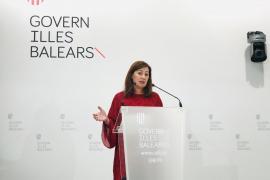 Armengol reclama a la Unión Europea un plan de recuperación económica específico para Baleares
