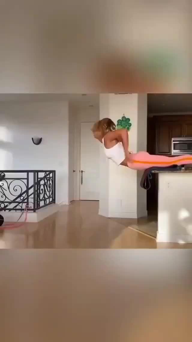 El increíble entrenamiento de la nadadora Efimova en su cocina