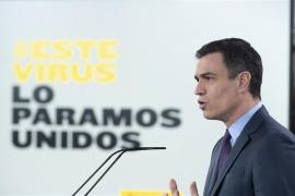 Sánchez anuncia una nueva prórroga, pero los niños podrán salir a partir del 27 de abril