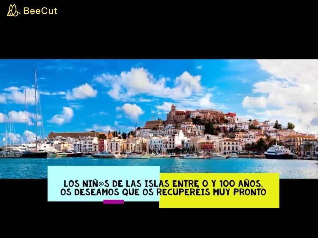 El Área de Salud de Ibiza y Formentera edita un vídeo con mensajes de ánimo para los que luchan contra el coronavirus
