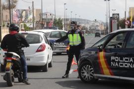 Tres detenidos en Ibiza y uno en Sant Joan por incumplir el confinamiento