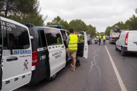 Baleares registra cuatro fallecidos en accidentes de tráfico en 2020, un 56% menos que en 2019