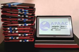 Apaac dona 14 tablets para los enfermos de COVID-19 de Can Misses