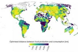 Ni un tercio de la Humanidad puede alimentarse solo de productos locales