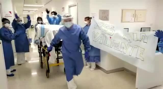 Una mujer de 87 años recibe el alta en Ibiza tras superar el coronavirus