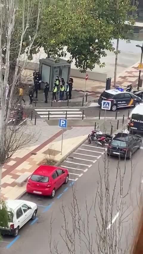 Dos detenidos y cinco denunciados por desobediencia, resistencia y actos vandálicos en Ibiza
