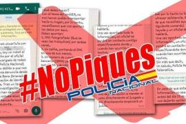 Falsos policías nacionales contactan por WhatsApp para robar datos