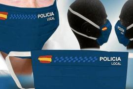 Una niña rompe la hucha para comprar mascarillas a la Policía de Sant Antoni