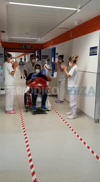 Recibe el alta el primer paciente positivo de coronavirus en Formentera