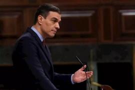 Sánchez dice que los sacrificios sociales y económicos «apenas han comenzado»