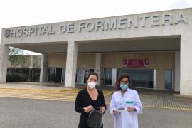 El Consell de Formentera reparte 1.000 pantallas de protección personal esencial