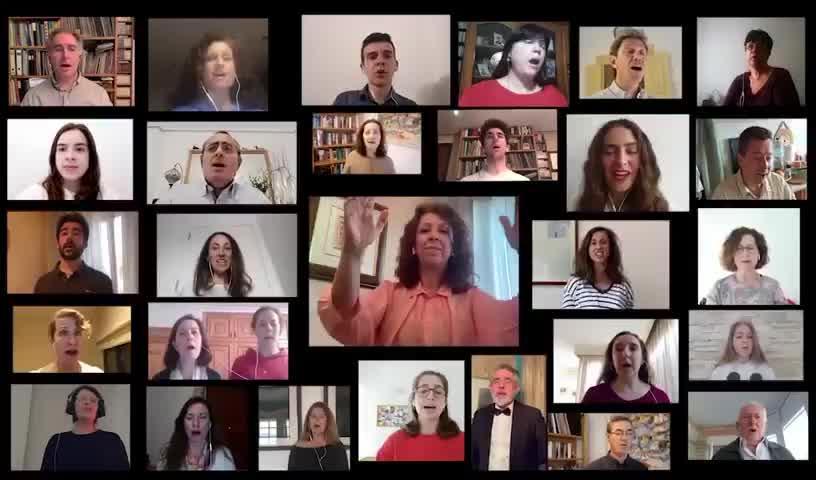 La Coral Amics de Sa Musica da ánimos a los que luchan contra el coronavirus con un emocionante vídeo