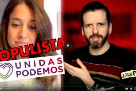 Una captura del inicio del video de Joan Planas analizando declaraciones de Gloria Santiago.