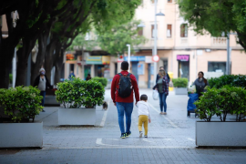 Los niños podrán jugar en la calle durante una hora con pelotas y juguetes