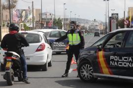 Detenido en Ibiza por saltarse por cuarta vez el confinamiento