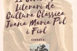 Vila apoya el concurso literario de Cultura Clásica Joana Maria Pol i Fiol con la compra de 100 libros