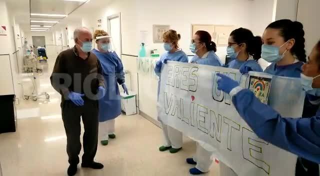 Francisco, de 86 años, supera el coronavirus tras trece días ingresado en Can Misses