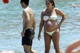 Nace en Palma el segundo hijo de Lorena Bernal y Mikel Arteta
