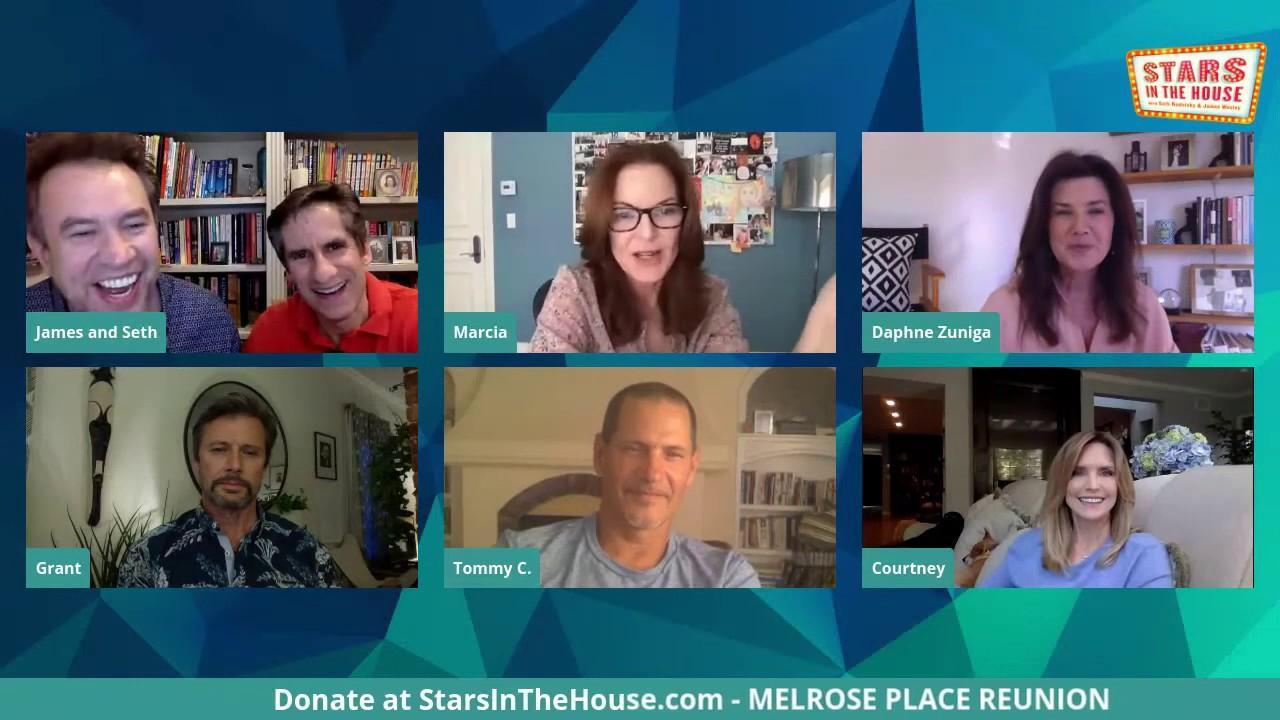 Los actores de 'Melrose place' se reúnen