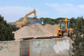 Formentera permitirá trabajar en verano a las obras anteriores al estado de alarma