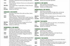 Variedad de actividades para el Primer Domingo de Mayo