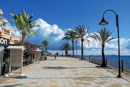El paseo de ses Figueretes en Ibiza