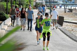 «Si no vemos la mar, 'fotut'»: Muchas ganas de hacer deporte y salir a pasear