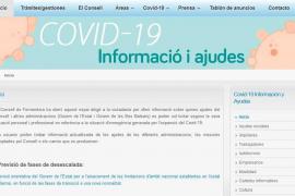 Formentera abre un espacio en su web con información sobre las ayudas que se ofrecen para paliar la crisis del coronavirus