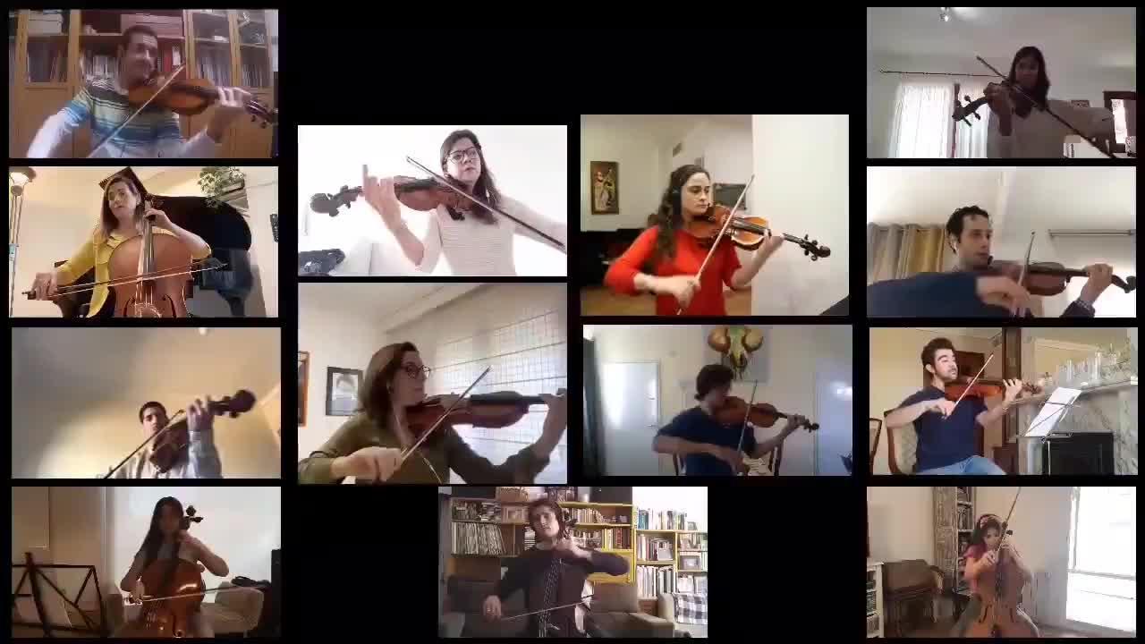 Músicos que viven dentro y fuera de Ibiza interpretan Bona Nit, Blanca Roseta para celebrar el Primer diumenge de maig
