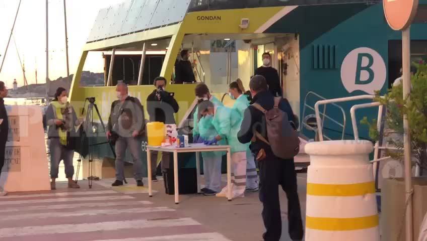 Detectan posibles casos de coronavirus entre pasajeros que se dirigían a Formentera