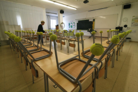 El Govern trabaja en un protocolo «de condiciones sanitarias» de apertura de las escuelas
