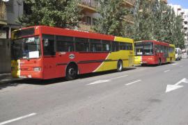 Un 90% menos de viajeros en los buses durante los días de estado de alarma