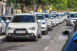 El coronavirus hace estragos en el sector del taxi de Ibiza