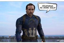 Bauzá 'asciende' a capitán en plena desescalada