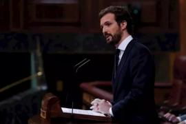 Casado anuncia la abstención del PP tras acusar a Sánchez de «mentir»