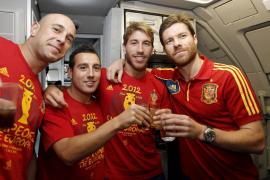 La Selección celebra su triunfo