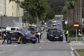 Producidas 62 infracciones en Ibiza durante el fin de semana