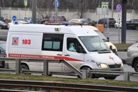 Al menos cinco muertos en el incendio de un hospital para pacientes con coronavirus en San Petersburgo