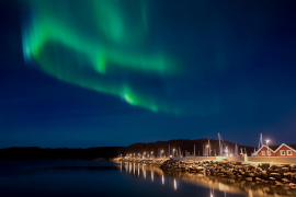 Auroras boreales en directo por streaming