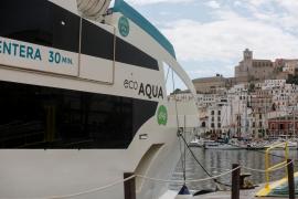 El Govern autoriza el embarque de pasajeros en buques de carga y pasaje entre Ibiza y Formentera